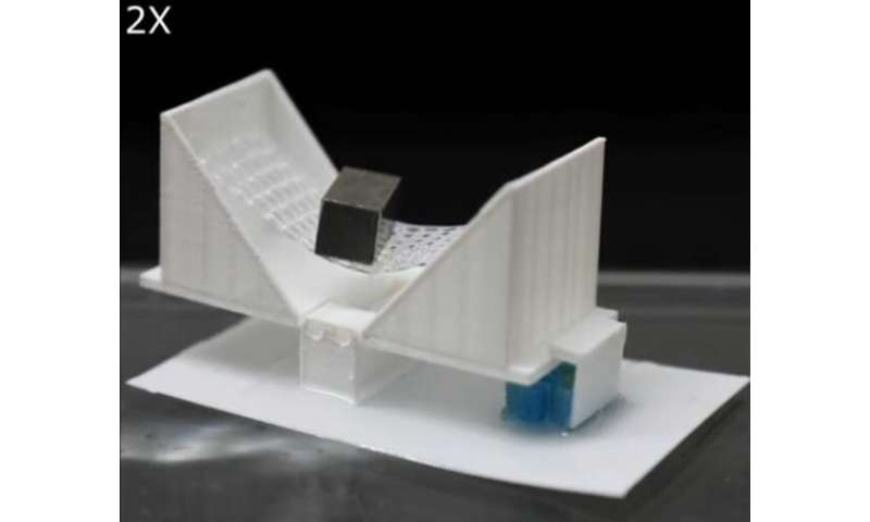 Engineers 3-D print smart objects with 'embodied logic'