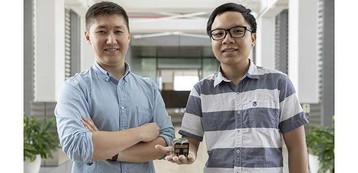 3-D-printed cube dials into energy harvesting