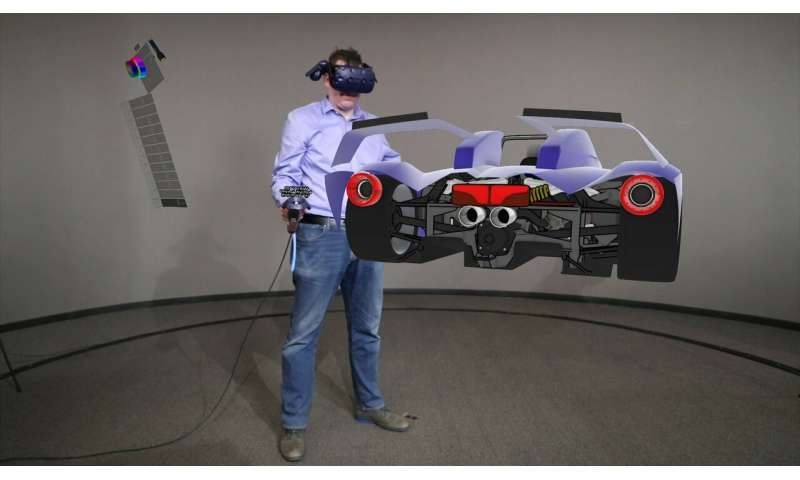 Car designers explore working with virtual reality