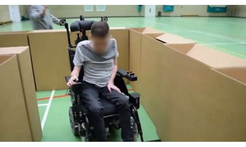 Augmented wheelchair effort shows admirable regard for independence