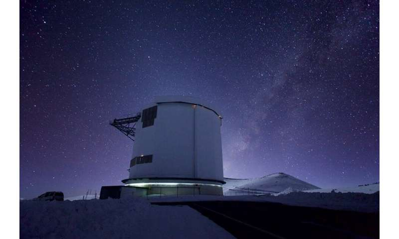 The James Clerk Maxwell Telescope discovers more than 10 billion times more powerful than those on the sun