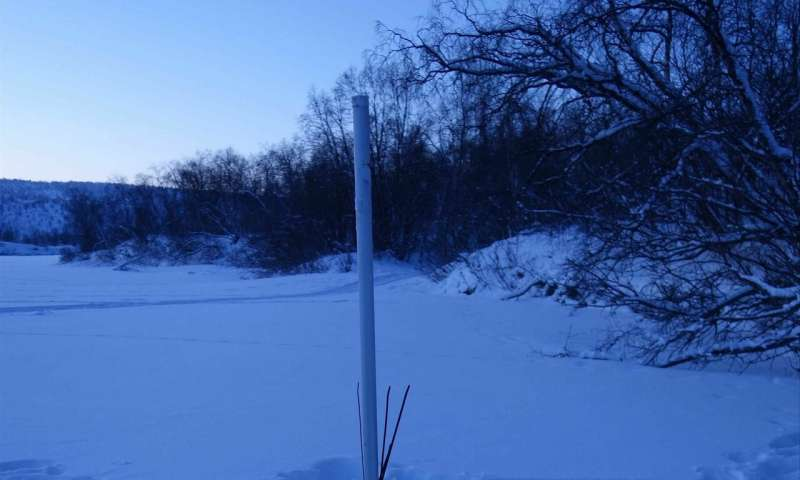 New insight into river flows and sediment transport under ice cover