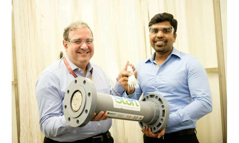 New membrane water treatment system to reduce toxic waste and waste disposal cost by over 90 per cent
