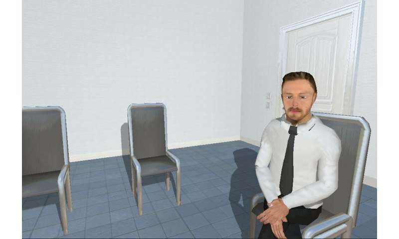 "Stress management: virtual support by ""human"" avatars works just as well as face-to-face support"