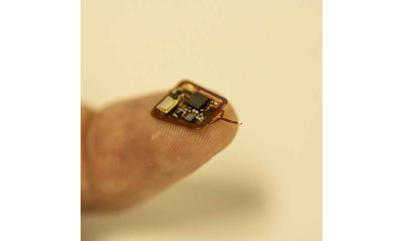 **Tiny implantable device can measure tissue oxygen levels inside the body