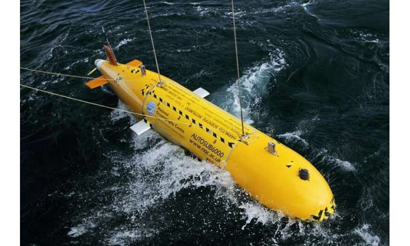 Robots may revolutionise marine environmental monitoring