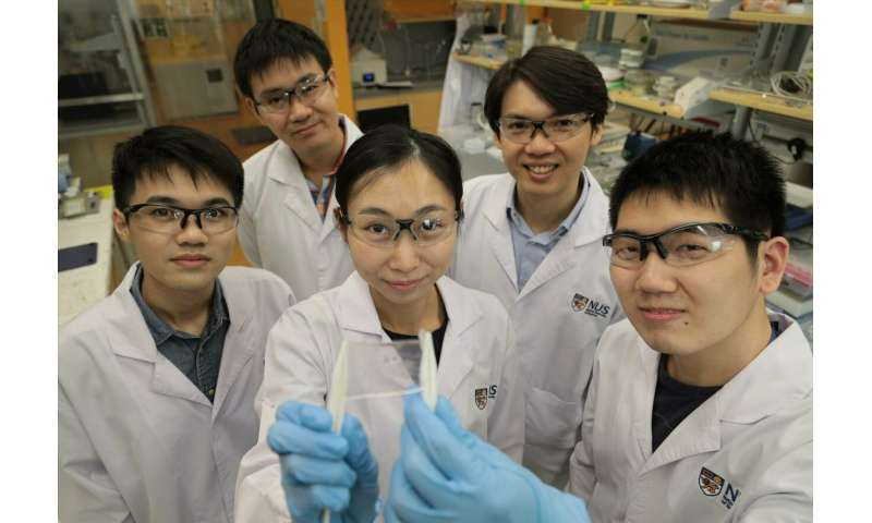 Researchers create water-resistant electronic skin with self-healing abilities