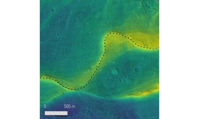 Řeky na Marsu byly podle nové studie větší než na Zemi