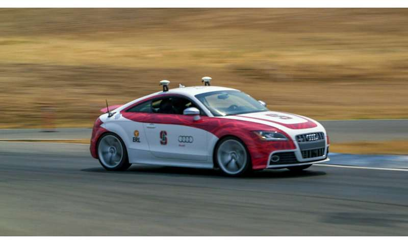 Stanford autonomous car learns to handle unknown conditions