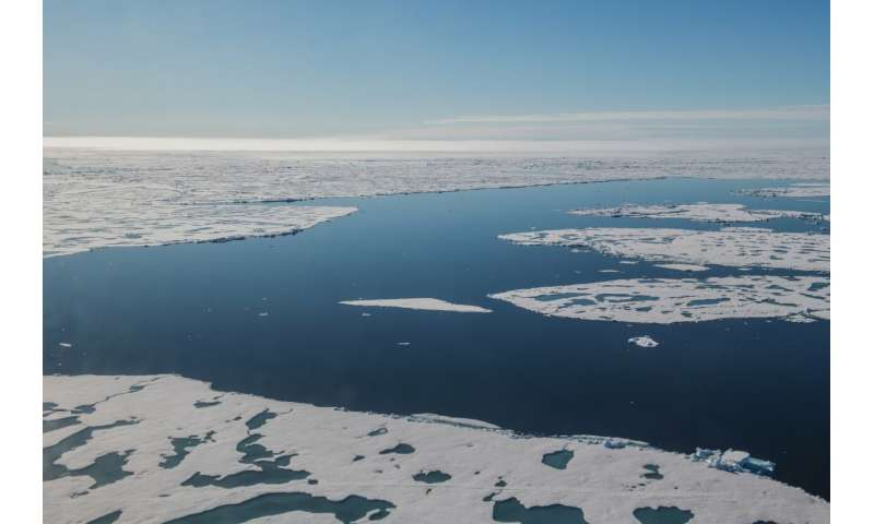 The Transpolar Drift is faltering -- sea ice is now melting before it can leave the nursery