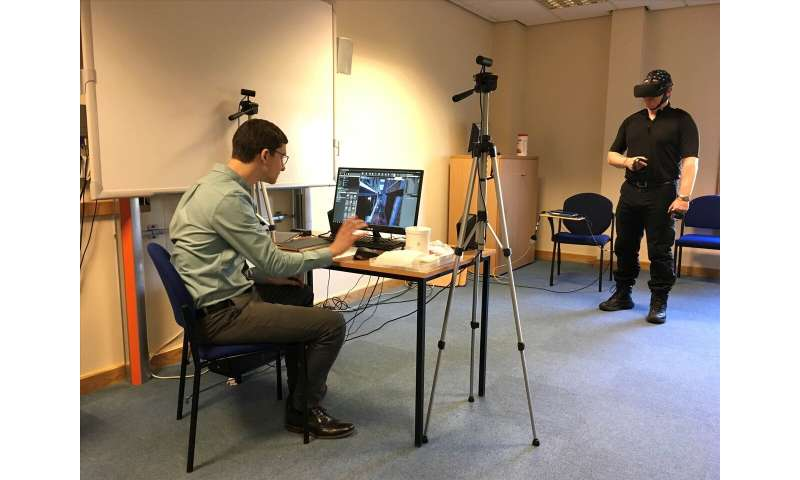 Investigating police decision-making under stress using EEG in virtual reality scenarios