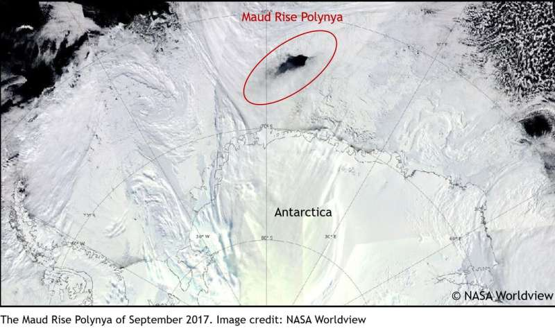 Uncovering Polynya: Research unravels 43-year-old mystery in Antarctica