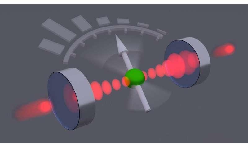 Quantum sensor for photons