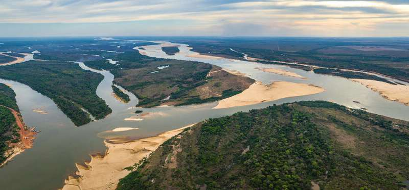 Just one-third of the world's longest rivers remain free-flowing
