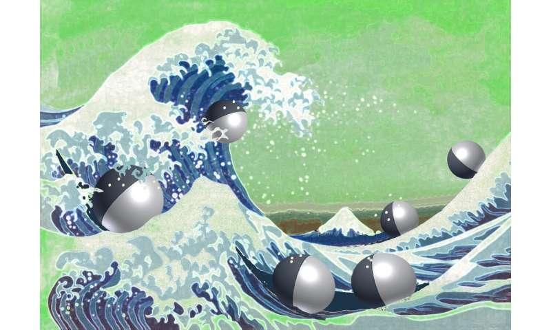 Diffusing wave paradox may be used to design micro-robotics