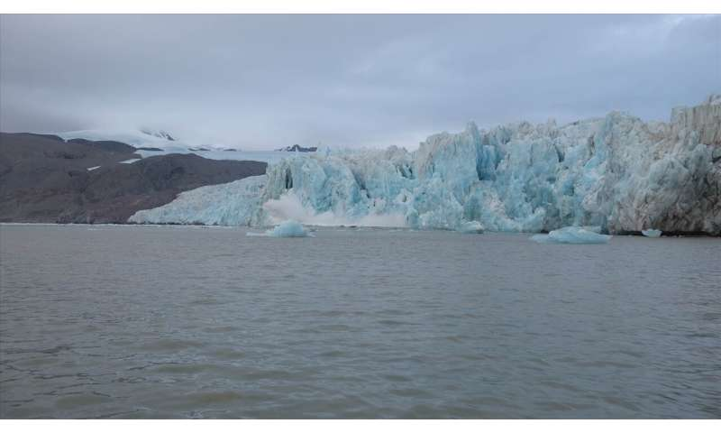 New measurements shed light on the impact of water temperatures on glacier calving