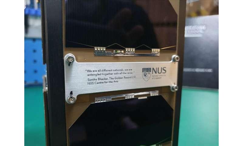 NUS quantum satellite combines art with science