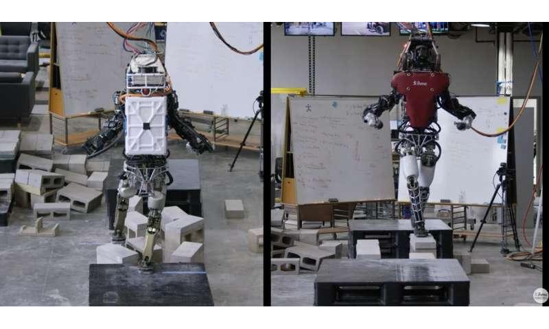 Robots step up to ace those big bad cinder blocks
