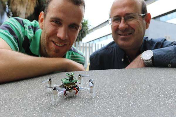 A nanodrone able to detect toxic gases in emergencies