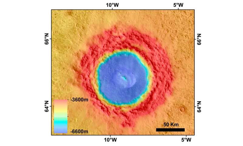 Researchers suggest Lomonosov crater could be more evidence of mega