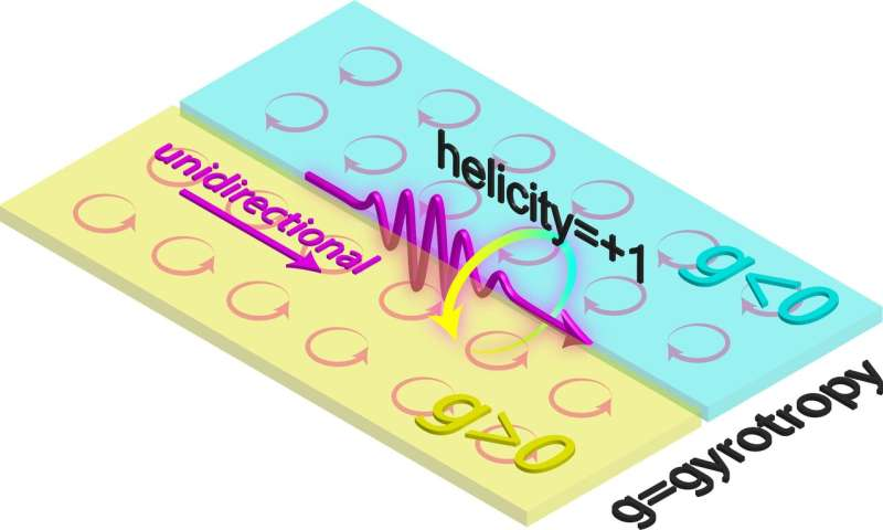Researchers document a quantum spin wave for light