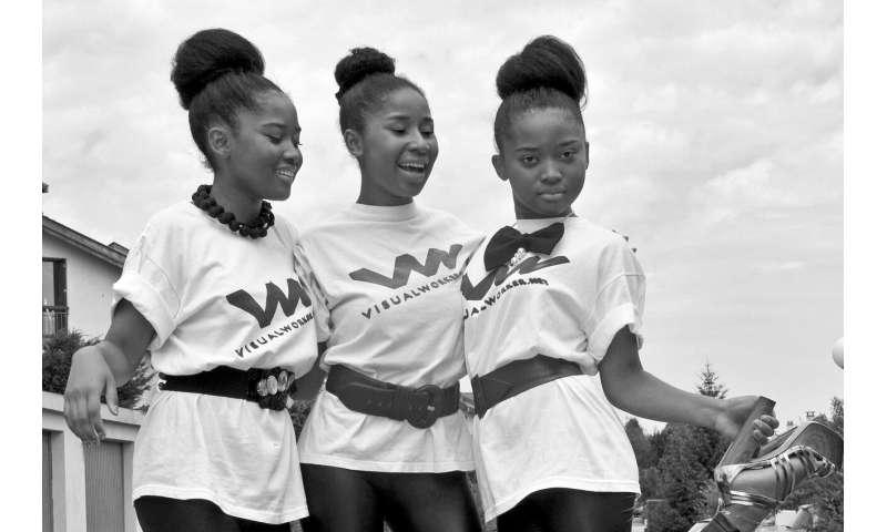 African American teens