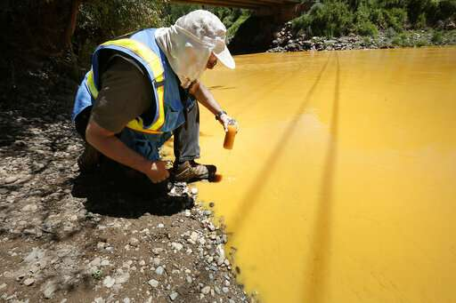 Fouled waters reveal lasting legacy of US mining industry