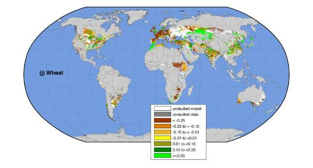 Climate change is already having an uneven impact on global food production.
