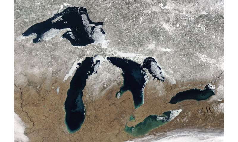 Climate change is driving rapid shifts between high and low water levels on the Great Lakes