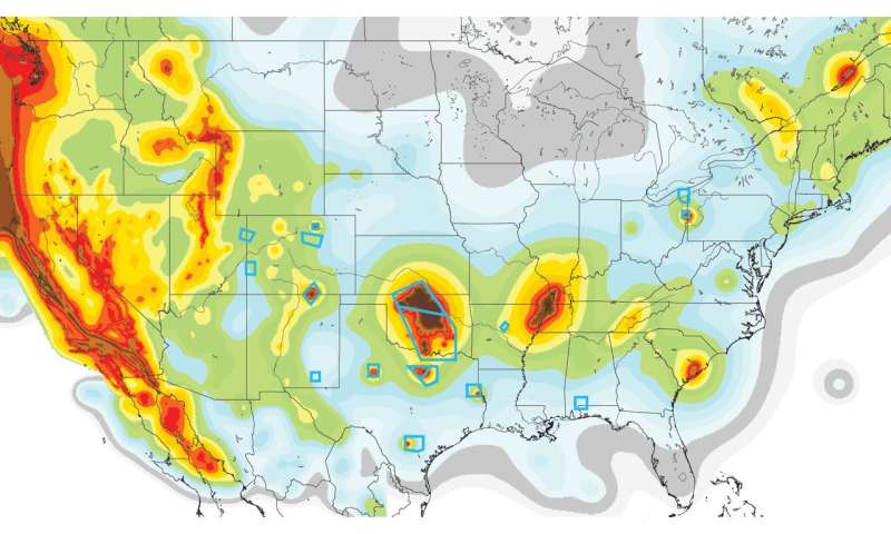 Study suggests earthquakes are triggered well beyond fluid injection zones