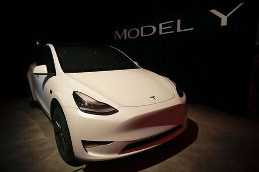 Tesla unveils Model Y SUV, expanding into popular segment