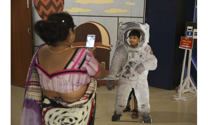 India prepares to land rover on moon in global space race