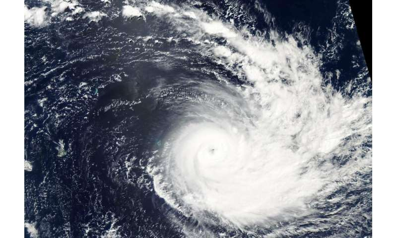 NASA's Aqua Satellite keeps an 'eye' on Tropical Cyclone Joaninha
