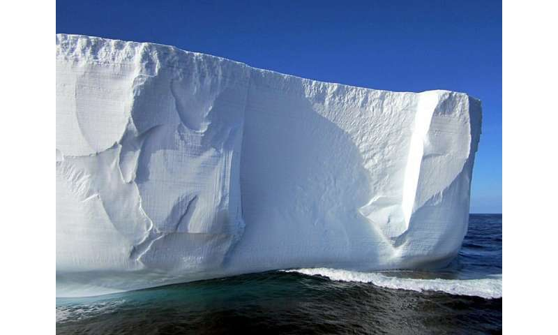 Scientists set sail on expedition to investigate 'Iceberg Alley' off Antarctica
