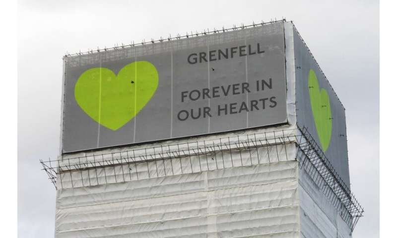 Catastrophic fires shape cities for centuries—Grenfell Tower is no exception