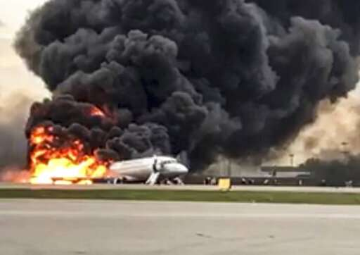 Russian plane in deadly fire found few customers worldwide