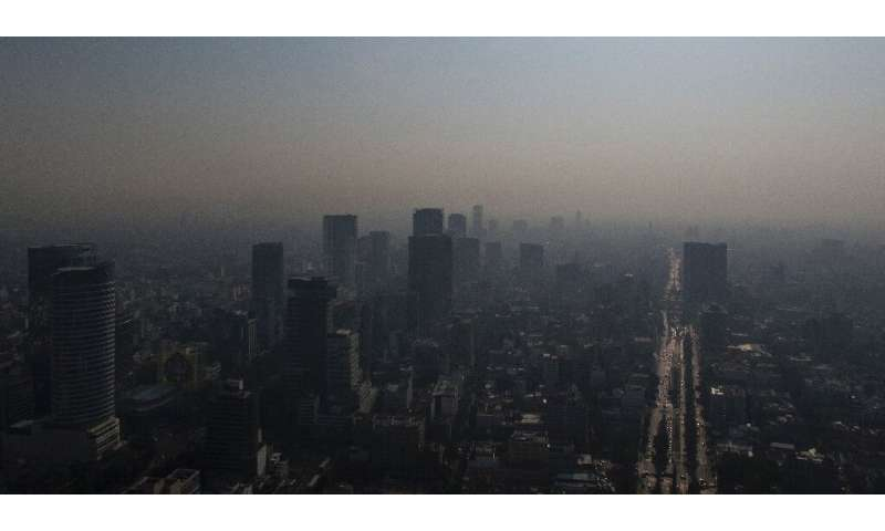 A air quality alert was declared over Mexico City's chronic pollution on May 14 2019