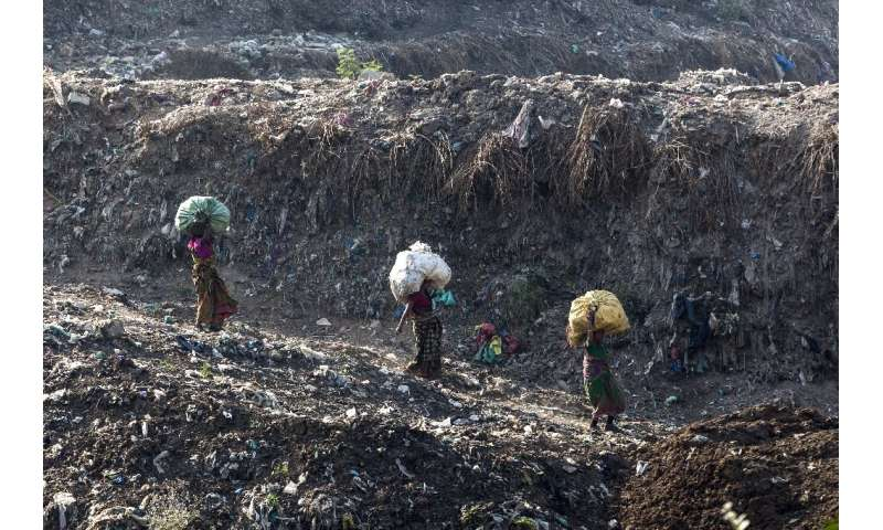 About 2,000 tonnes of garbage is dumped at Ghazipur each day