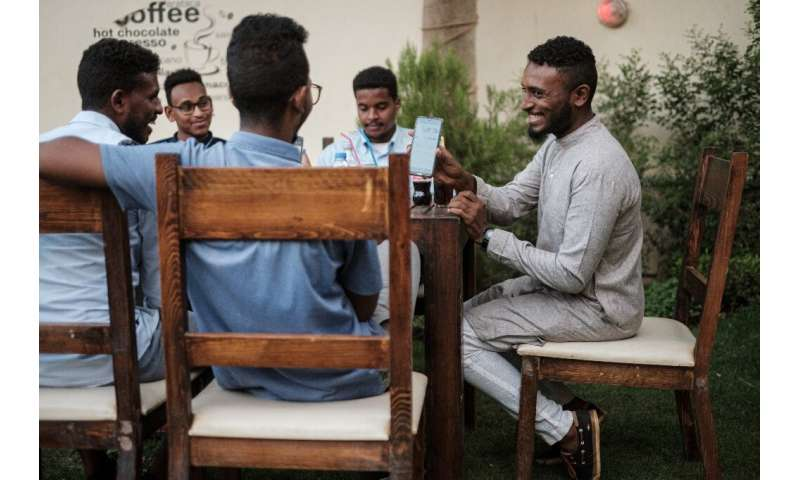 Across Sudan, the internet is now accessible only through land telephone lines or fibre optic cables, and the connection is erra