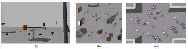 **A decentralized trajectory generation algorithm for multi-robot systems