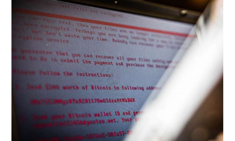 A global cyberattack in 2017 infected more than 200,000 victims in more than 150 countries with ransomware, including Britain's