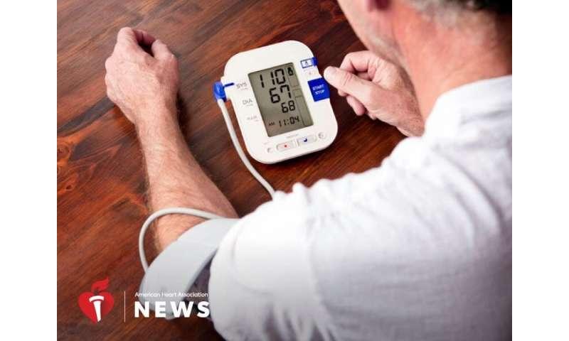 AHA news: half of U.S. adults should monitor blood pressure at home, study says