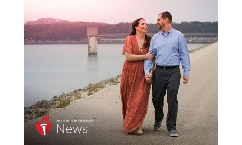 AHA news: she asked google for story about coast guard stroke survivor and found her soulmate