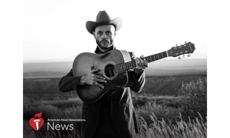 AHA news: up-and-coming texas singer lucky to be alive and still singing the blues