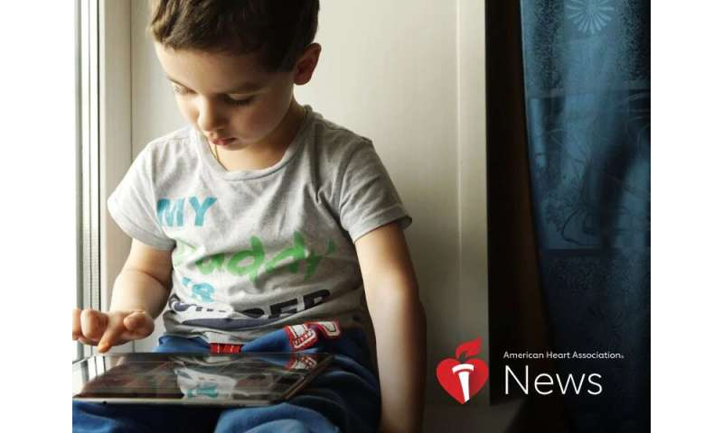 AHA news: with summer vacation here, how much screen time is too much?