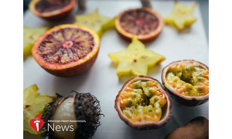 AHA: time is ripe for trying new fruits and vegetables