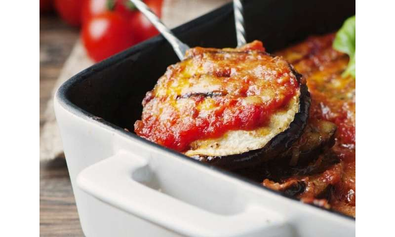 A healthy twist on a classic eggplant recipe