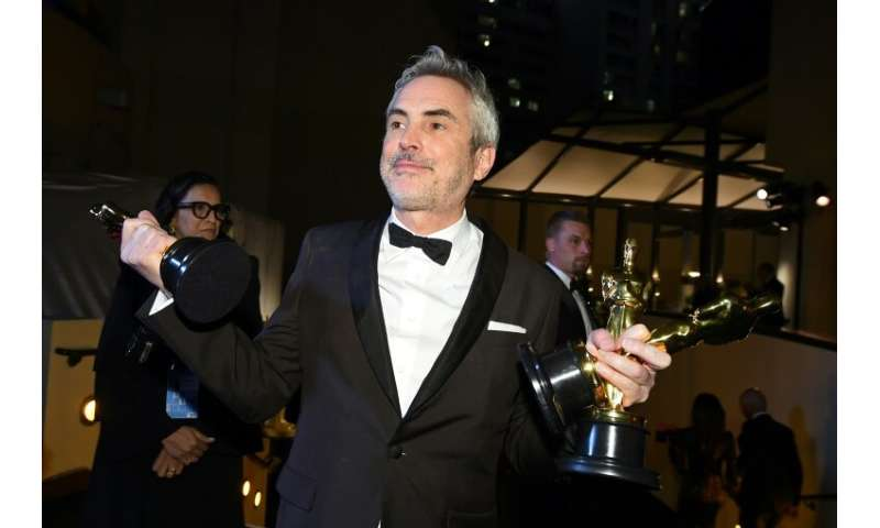 "Alfonso Cuaron received three Oscars in 2019 for ""Roma,"" a Netflix movie"