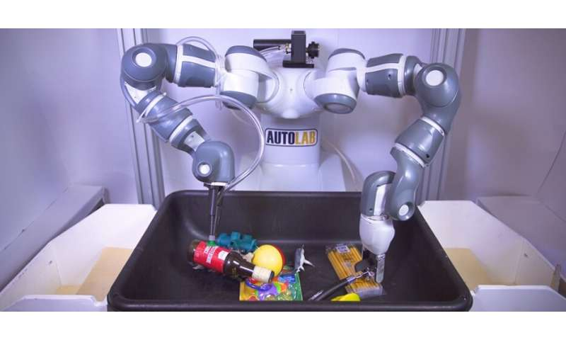 'Ambidextrous' robots could dramatically speed e-commerce