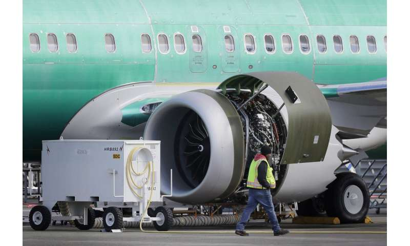 American expects $350 million hit from grounded Boeing plane